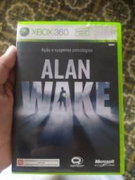 Jogo Alan wake original de Xbox 360