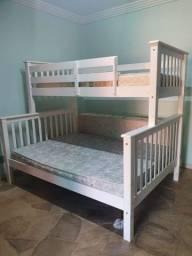 Título do anúncio: beliche cama de casal nova sem colchão