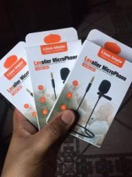 Título do anúncio: Microfone de lapela