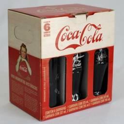 6 garrafas históricas da coca cola