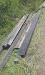 Conjunto de madeiras Ipê