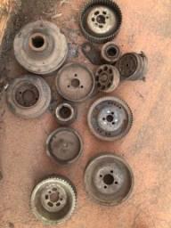 Kit de polias do motor maxion 2.5