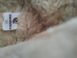 Gorro em lã de carneiro, tamanho P
