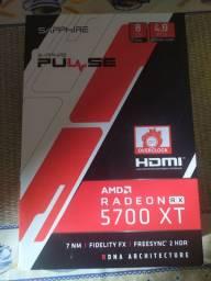 Placa de vídeo RX5700XT Sapphire Pulse