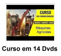 Título do anúncio: 14 Dvds Curso de Ar Cond. de Tratores e Caminhões