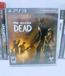 Título do anúncio: Jogo de PS 3 The Walking Dead Game Original Midia Física Semi Novo Play 3