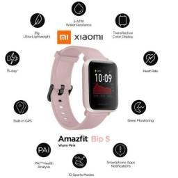 Título do anúncio: Amazifit bip S Rosa C/GPS