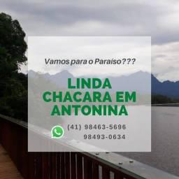 Título do anúncio: Chacará no Paraíso em Antonina -  area de 25,300m²  com Otima Casa 180 m² com 3 quartos (s