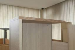 Mesa Adaptada em MDF Marrom 28 cm x 150 cm x 60 cm
