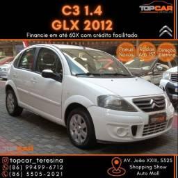 Título do anúncio: Citroën C3 GLX 1.4 2012