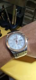 Relógio de Pulso Magnum Automático em Aço Inoxidável Usado