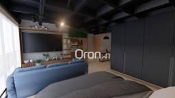 Apartamento com 1 dormitório à venda, 45 m² por R$ 215.000,00 - Setor Marista - Goiânia/GO