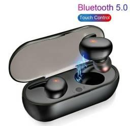 Título do anúncio: Fone De Ouvido Y30 Estéreo Sem Fio 5.0 Com Toque Digital