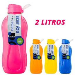 Garrafa Squeeze 2 Litros Homeflex Color