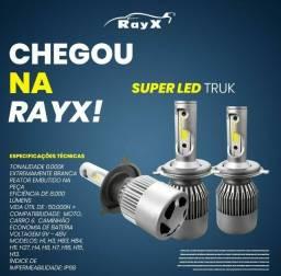 Título do anúncio: Kit lampada super led branca 8000lm