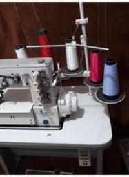 Título do anúncio: Máquina Galoneira industrial e máquina de cortar viés 2 faca