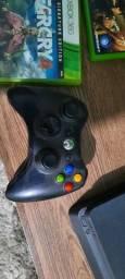 Título do anúncio: Xbox 360 + jogos
