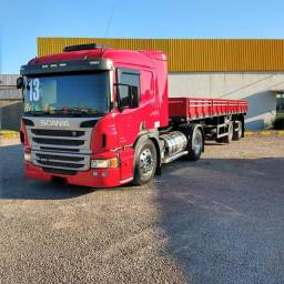 Vendo Scania P360 com Carreta Librelato