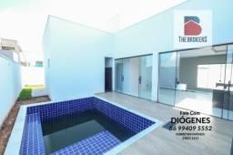 Casa Terras Alphaville Térrea com piscina e 148 m2