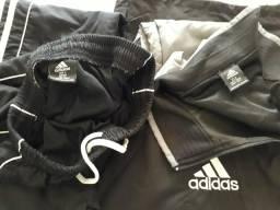 Calça e jaqueta adidas original