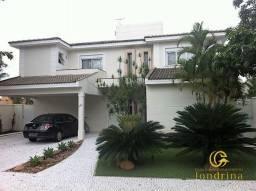 Casa sobrado em condomínio com 4 quartos no Condomínio Alphaville Jacarandás - Bairro Faze