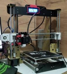 Impressora 3D Anet A8, Montada, Calibrada + Mesa aquece em 3 minutos