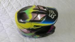Capacete Fox V1 - Trilhas/Motocross