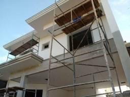 Construção residencial e comercial