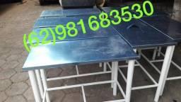Mesa de inox, a partir de R$200,00 (62)981683530
