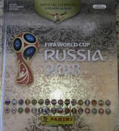 Álbum de figurinhas Copa do Mundo Rússia 2018