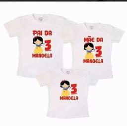 Camisetas personalizadas com temas e fotos