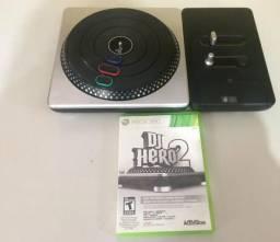 DJ Hero 2 + jogo original Xbox 360