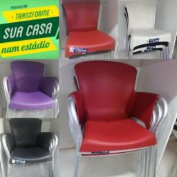 Cadeiras de alumínio super resistente 140kg!