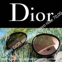 1 Óculos marca Dior espelhado Rose Novo