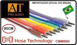 Hosa Technology Cmm890 Cabo Patch P2 Mono 90cm Kit 8u Sintetizador