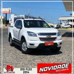 Fenômeno!! Pick Up S10 LT Flex 2014 F1 Auto Center Caicó RN - 2014