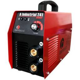 Máquina de Solda Inversora Bambozzi A Industrial 241 Bi-Volt(Nova)