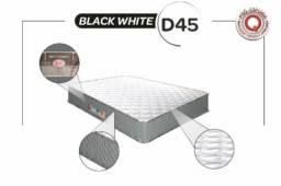 Colchão Castor Black White D45 - 138x188x25
