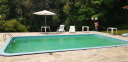 Sitio em Santo Amaro da Imperatriz para eventos com piscina