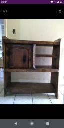 Usado, Rack de madeira maciça comprar usado  Taboão da Serra