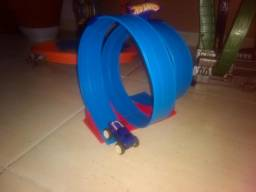 Pista Hot Wheels (Hotwheels) Rev Ups - Super Loop