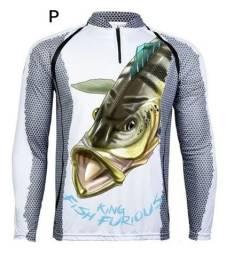 Camisa de pesca king proteção uv 50 está em Ariquemes