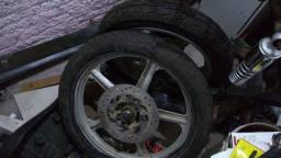 Roda traseira e dianteira Dafra Kansas 150