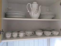 Aparelho de chá porcelana Schmidt trigo