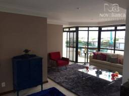 Cobertura com 3 quartos para alugar, 260 m² por R$ 4.500/mês - Mata da Praia - Vitória/ES