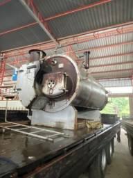 Caldeira 1.200kg vapor horizontal
