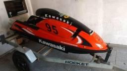 Jet ski com reboque - 1997