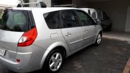 Renault grand scenic dynamique 2.0 16v automático 7 lugares carro top de linha ano 2009 - 2009