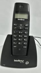 Telefone fixo sem fio com identificador de chamadas