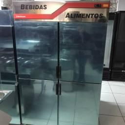 Câmara refrigeradora inox -Ricardo - *